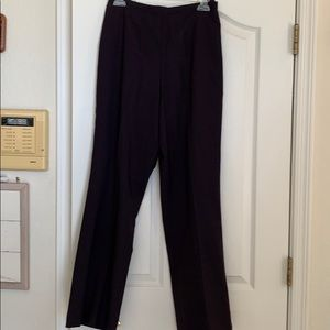 Etcetera brand slacks black wide leg style